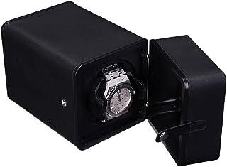 Cadeau Boîte de rangement électrique simple en cuir de luxe de boîte de remontoir en cuir de luxe automatique , for les ho...