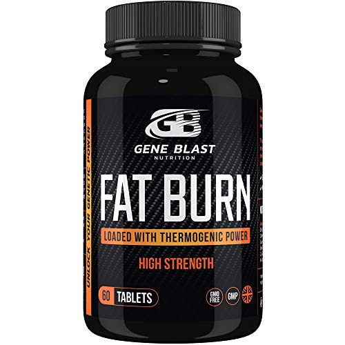 Gene Blast Fat Burn-Thermogenic Power to Aid Weight Control, Supercharge Both Physical Energy Levels & Mental Focus for Men & Woman 60ct