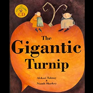 The Gigantic Turnip audiobook cover art