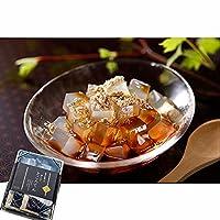 磨き水の ところてん 角切 ( 黒蜜きな粉付き)100g×2 お中元 ギフト 心太 天草 100% 和菓子 グルメ 豆の文志郎