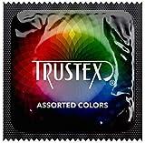 Trustex Color Sensations, Assorted Fun Colored Latex Condoms-24 Count