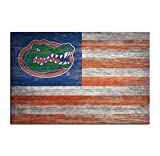 miaomiao Wall Art Canvas Prints and Posters Sports Flags Florida Gators Pictures Painting Home Decor (12x18inch,Unframed)
