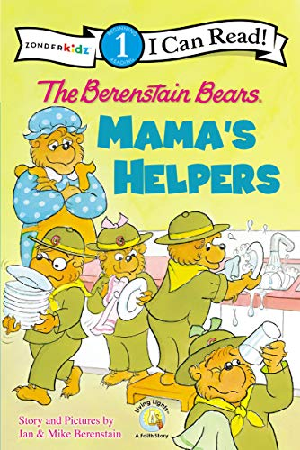 The Berenstain Bears: Mama's Helpers: Level 1 (I Can Read! / Berenstain Bears / Good Deed Scouts / Living Lights: A Faith Story) (English Edition)