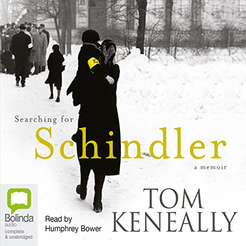 Searching for Schindler audiobook cover art