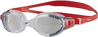 Speedo 8-11313B991 Unisex Futura Biofuse Flexi Seal, Lava Red/Clear