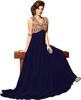 1 Stop Fashion Women's net anarkali Salwar Suit Set