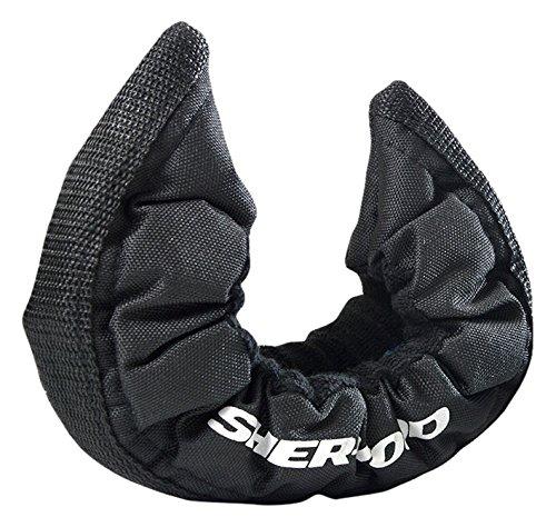 Sher-Wood Elatische Kufenstrümpfe - Kufenstrumpf für Eishockey- & Schlittschuhe I mit verstärkter Laufschiene I elastische Kufenschoner I Schlittschuh- &...