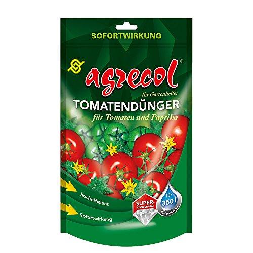 Abono prémium para tomates, pimientos finos y pimenteros, plantas de chile con efecto rápido, para 350 litros de agua altamente concentrada y de alto rendimiento