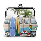 AOOEDM Surfen mit Tauchflossen Schnorcheln Pu Leder Exquisite Schnalle Geldbörsen Vintage Pouch...