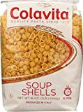 Colavita Pasta, Soup Shells, 16 Ounce (Pack of 20)