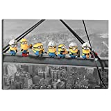 REINDERS Despicable Me Minions Lunch on a Skyscraper -
