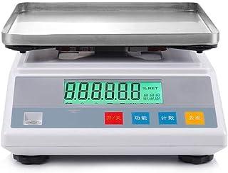 HJTLK Báscula de baño Digital, balanza electrónica 6kg / 0.1g Báscula de balanza Báscula de té Báscula de Medicina Alimentos llamados 5Kg / 0.1g