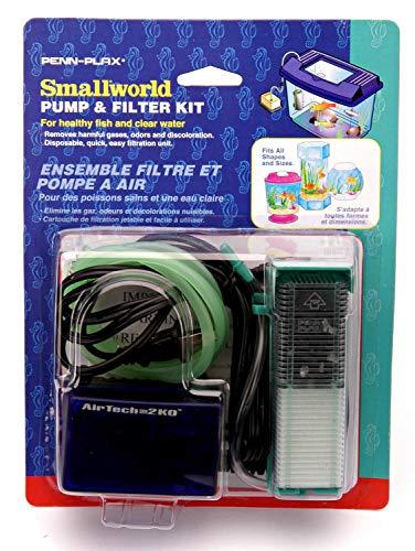 Kleine Wereld Penn Plax Kleine Wereld Filter Eenheid en Vervangende Cartridge