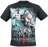 Spiral - Vikings - Battle - Camiseta - Negro - M
