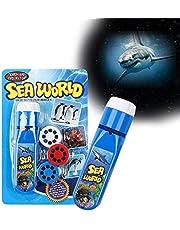 Pup Go Zabawki Projekcyjne, Odpowiednie dla Dzieci powyżej 3 Lat, w Tym 24 Slajdy o Zwierzęta Morskie, Zabawki Wczesnej Edukacji Naukowej i Zabawki z Historyjkami dla Rodziców i Dzieci