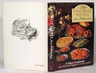 Favorite Meals from Williamsburg (Menu Cookbook)