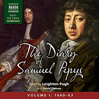 The Diary of Samuel Pepys: Volume I: 1660 - 1663 audiobook cover art