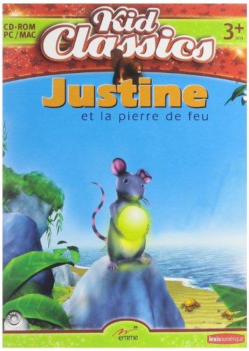 Justine et la Pierre de Feu + Sac a Dos