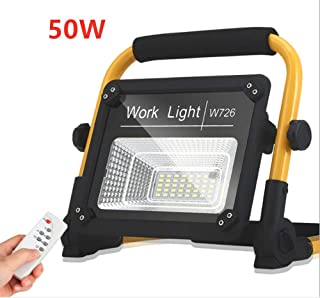 LED Rechargeable Work Light, AULIN 50W 39LED Outdoor Floodlight Camping Lights Emergency Spotlight with 360° Portable Hand Lamp Waterproof for Camping Traveling Fishing Security Lights