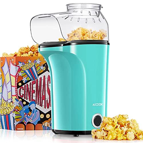 Machine à Pop Corn, 1400W Retro Machine à Popcorn...