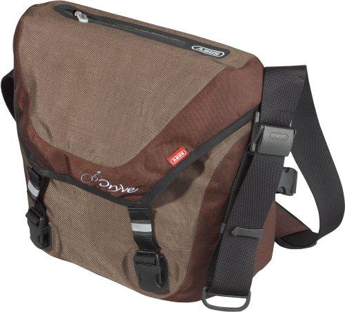 ABUS Messenger Bag Dryve ST 8600 M, braun/dunkelbraun, 40 x 35 x 15 cm, 51587-3