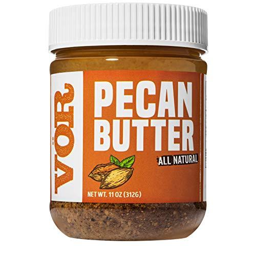 Vör Pure Pecan Butter (11oz) | Only One Ingredient | Vegan, Paleo, Keto, Whole 30