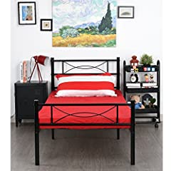 No tools are required,assembles in minutes Gift for residence bedroom,Dorm,school kids children room BEST fit for average weight people,Hold up to 176LBS.No tools are required, assembles in minutes Provides extra under-the-bed storage space with a ve...