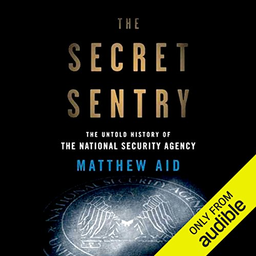 The Secret Sentry audiobook cover art