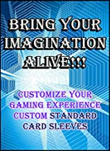 Custom Card Sleeves 60ct with Your Design for Gaming Cards Standard Size Magic The Gathering, Pokemon