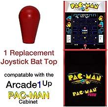 RetroArcade.us ra-js-topball-1up-kit-6 arcade1up pac-Man, Galaga, Rampage, Street Fighter, Pacman, Jamma, mame, Joystick bat top Handles, New