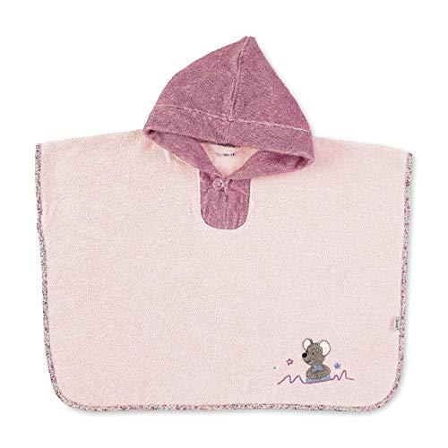 Sterntaler 7252001 poncho mok, roze
