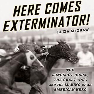 Here Comes Exterminator! audiobook cover art