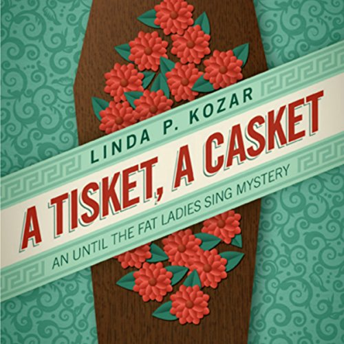 A Tisket, A Casket audiobook cover art