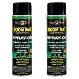 DEI Boom MAT Spray on for Sound Deadening 18 Oz (2 Pack)