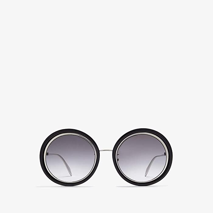Alexander McQueen  AM0150S (Palladium) Fashion Sunglasses