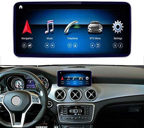 Road Top Autoradio Android 10 Touch screen da 10,25 pollice per Mercedes Benz CLA GLA Classe X156 C117 CLA200 CLA250 CLA 45 AMG GLA200 GLA250 2013-2015 Anno, supporto schermo diviso Caplay wireless