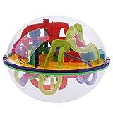 Homyl 3D Labyrinth Geschicklichkeitsspiel Kugel Kugelpuzzle Gedulds Spiel für Kinder Erwachsene - 299 Levels -