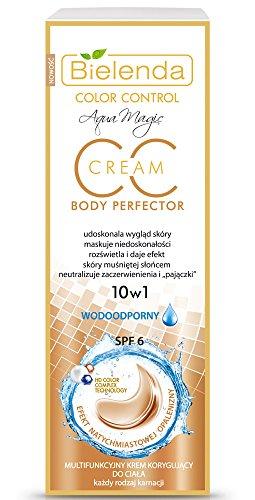 BIELENDA MAGIC CC 10 in 1 Multifunctional Color Correcting Body Cream 175 m, WATERPROOF
