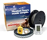 SunTouch WarmWire Electric Floor Heating Kit, 70 Sq. Ft, (120V) with...