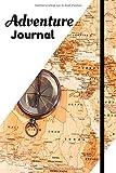 Adventure Journal - Carnet de notes - Carnet de voyage: Cahier 100 pages avec lignes