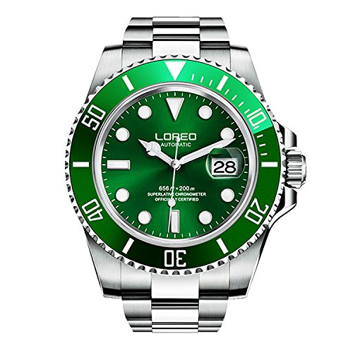 Best Automatic Watches On a Budget - LOREO Men's Automatic Watch
