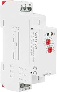 GRT8-A1 تأخير وقت التتابع   التكرار الإلكتروني المصغر   مؤشر LED وظيفة واحدة تتابع وقت التشغيل تأخير التتابع DIN Rail Type...