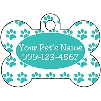 uDesignUSA Realtree Camo NCAA Personalized Pet Id Tag for Dogs /& Cats w//Name /& Number