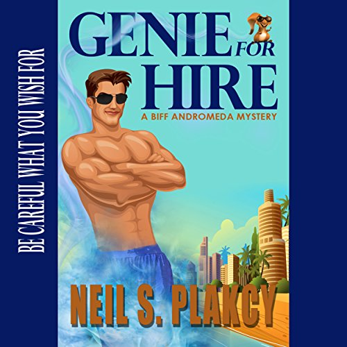 Genie for Hire audiobook cover art