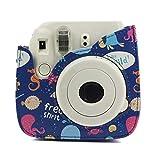 UKtrade - Funda para cámara de Fotos Fujifilm Instax Mini 9 8 8+, Ocean