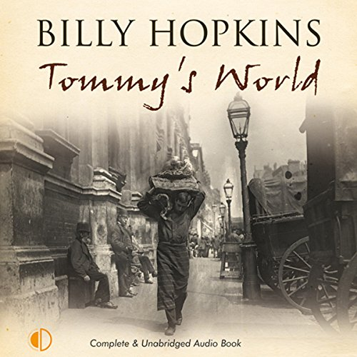 Tommy's World audiobook cover art
