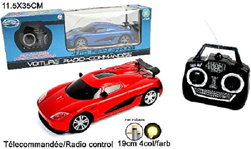 1 voiture sport radiocommandée 19 cm