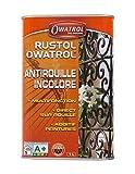 Owatrol - Rustol - 1,0 L - Vernis Antirouille - Incolore - Primaire pour Peinture Métal - 733