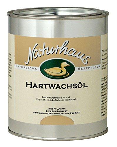NATURHAUS NATURFARBEN 750 ml Hartwachsöl matt, farblos