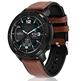 Smart Watch, Fullmosa Fitness Tracker with Heart Rate and Blood Pressure, IP68 Waterproof